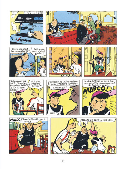 Page 7 Inspecteur Bayard intégrale tome 2