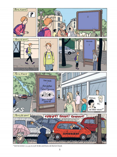 Page 5 Marion Duval - intégrale tome 7
