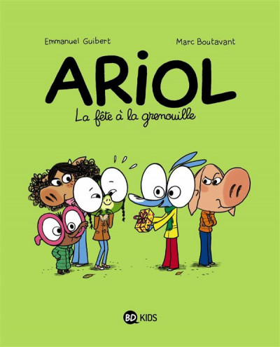 Couverture Ariol tome 11