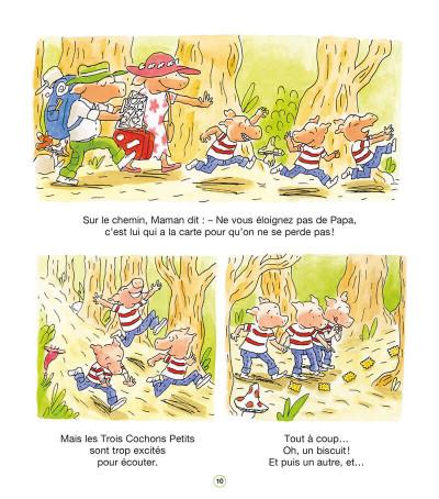 Page 9 Les trois cochons petits tome 1 - Dans la forêt enchantée
