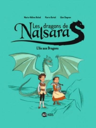 Couverture Les dragons de Nalsara tome 1