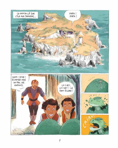 Page 6 Les dragons de Nalsara tome 1
