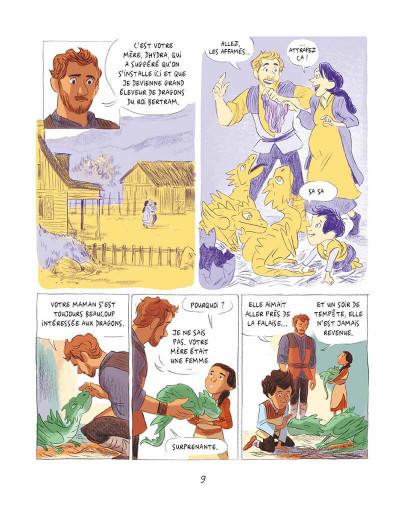 Page 8 Les dragons de Nalsara tome 1