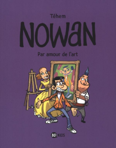 Couverture Nowan tome 1