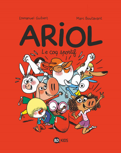 Couverture Ariol tome 12
