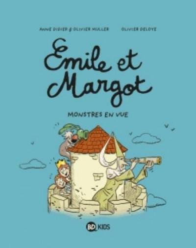 Couverture Emile et Margot tome 8