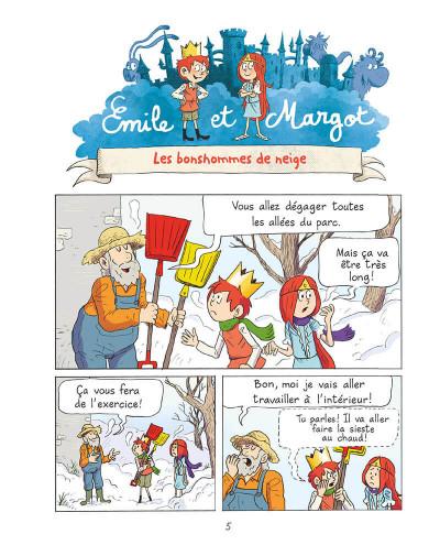 Page 4 Emile et Margot tome 8