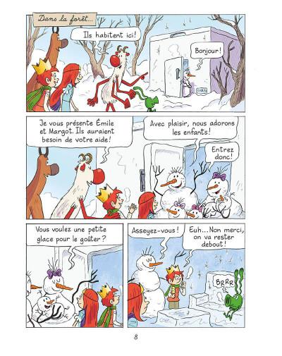 Page 7 Emile et Margot tome 8
