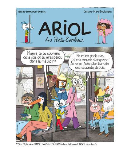 Page 5 Ariol tome 13