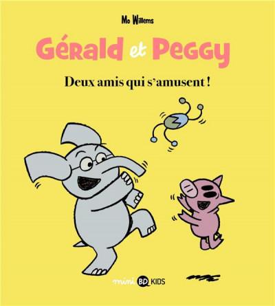 Couverture Gérald et Peggy tome 2