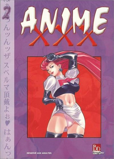 Couverture Anime XXX tome 2