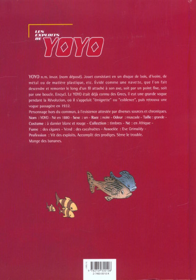 Dos exploits de yoyo ; intégrale