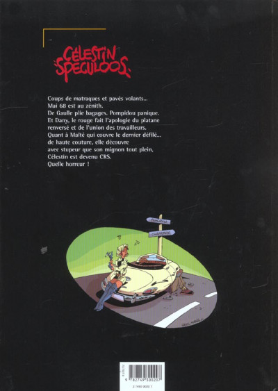 Dos célestin speculoos tome 2 - mai 68