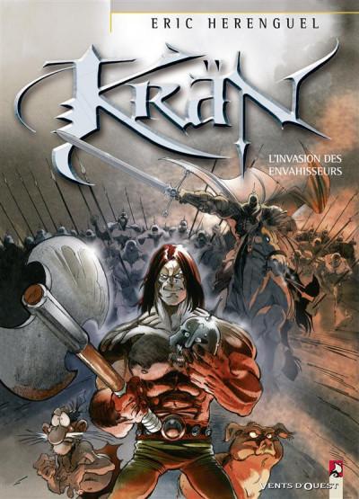 Couverture krän le barbare tome 5 - l'invasion des envahisseurs