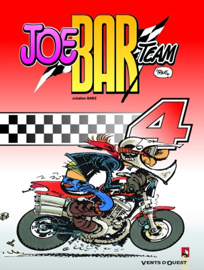 Couverture Joe bar team tome 4