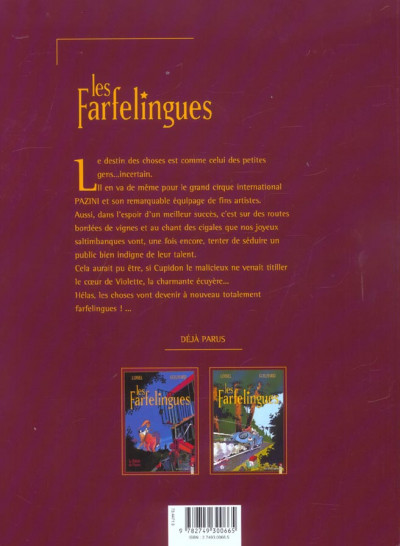 Dos les farfelingues tome 3 - les vignes de l'empereur