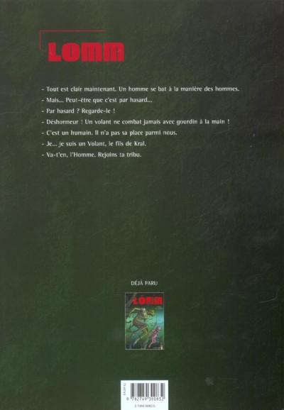 Dos Lomm tome 2 - les enfants des racines