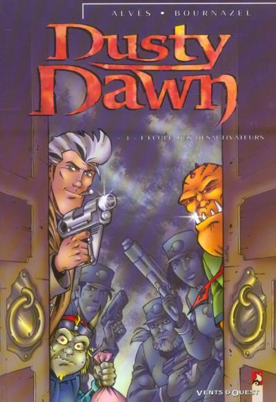 Couverture dusty dawn tome 3 - l'école des désactiveurs