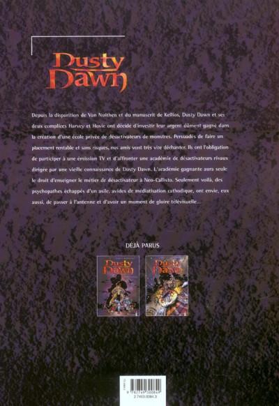 Dos dusty dawn tome 3 - l'école des désactiveurs