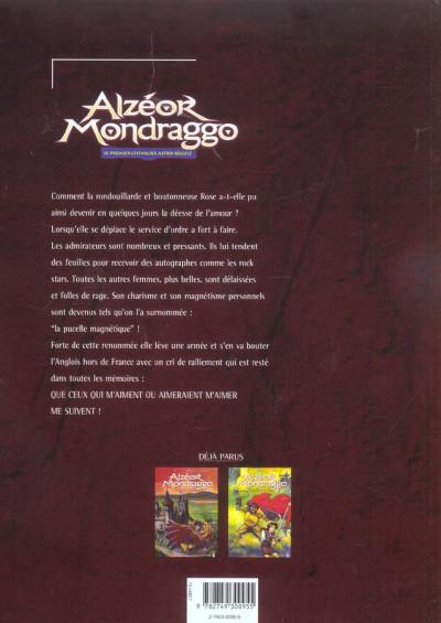 Dos Alzeor Mondraggo tome 3 - la clé de l'amour