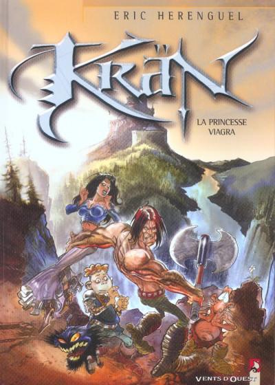 Couverture Krän le barbare tome 7 - la princesse viagra