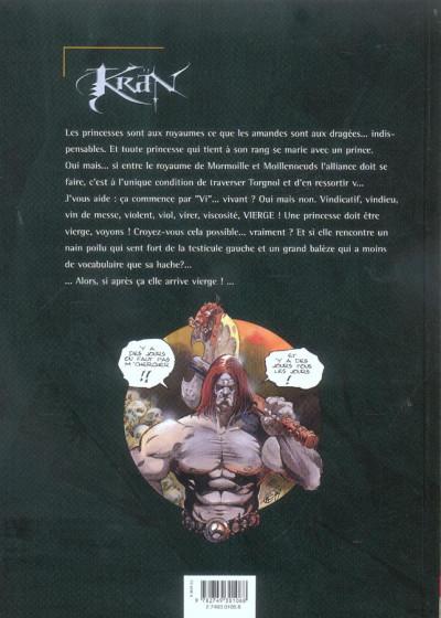 Dos Krän le barbare tome 7 - la princesse viagra
