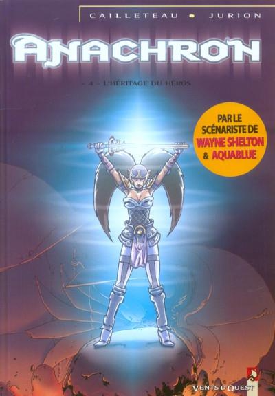image de anachron tome 4 - l'héritage du héros