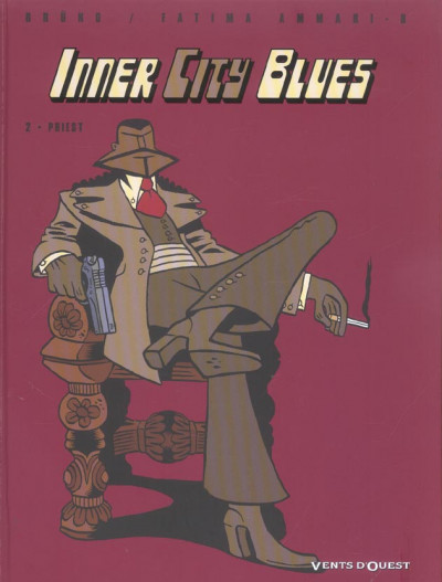 Couverture Inner city blues tome 2 - priest