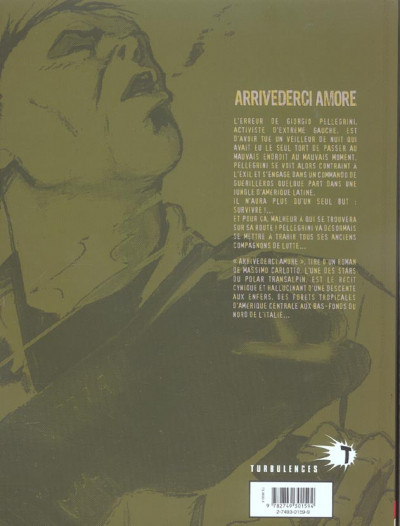Dos Arrivederci amore tome 1 - histoire d'une canaille