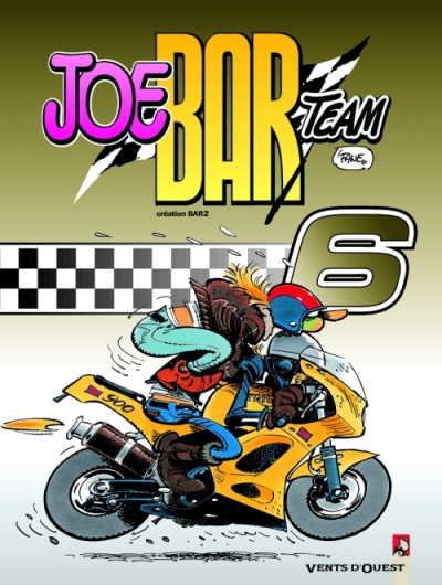 Couverture Joe bar team tome 6