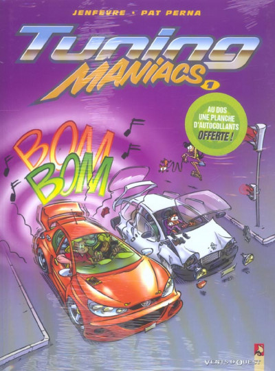 Couverture tuning maniacs tome 1
