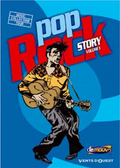 Couverture Pop rock story tome 1