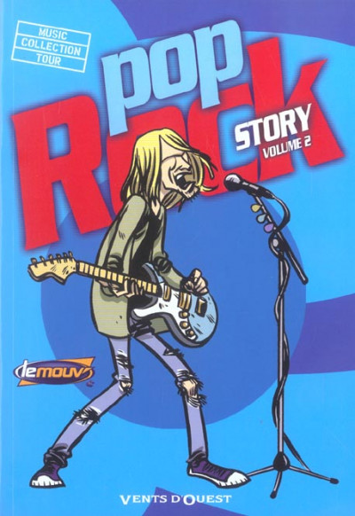Couverture Pop rock story tome 2