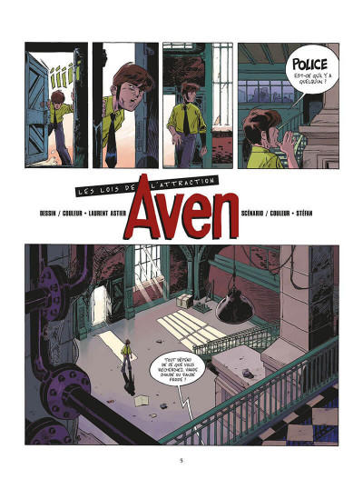 Page 6 aven tome 1 - les lois de l'attraction