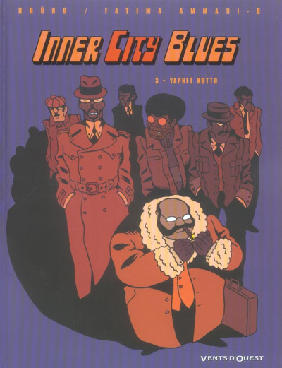 Couverture Inner city blues tome 3 - yaphet kotto