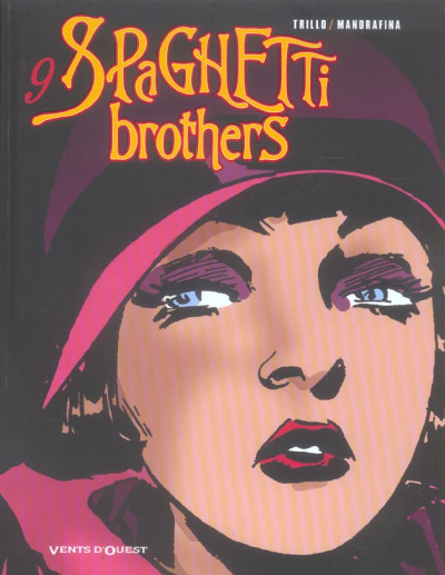 Couverture spaghetti brothers tome 9
