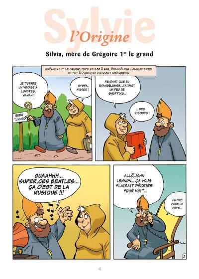 Page 7 l'encyclopédie des prénoms en bd tome 10 - sylvie