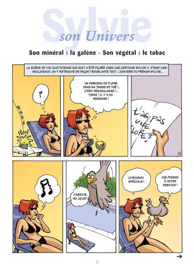 Page 8 l'encyclopédie des prénoms en bd tome 10 - sylvie