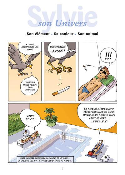 Page 9 l'encyclopédie des prénoms en bd tome 10 - sylvie