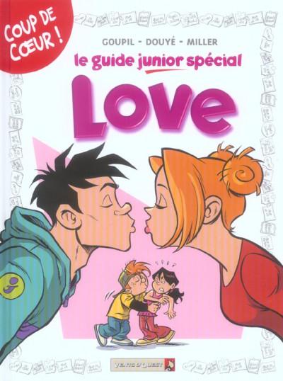 Couverture le guide junior ; spécial love