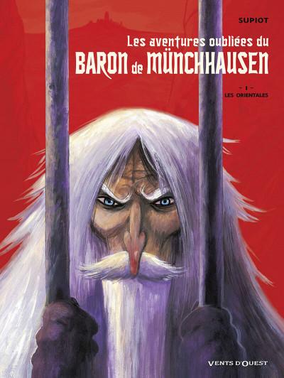 Couverture les aventures oubliées du baron de munchhausen tome 1 - les orientales