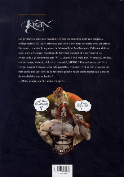 Dos krän le barbare tome 7 - la princesse de mormoille