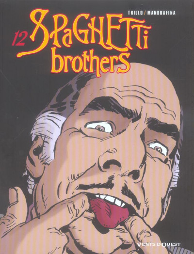 Couverture spaghetti brothers tome 12