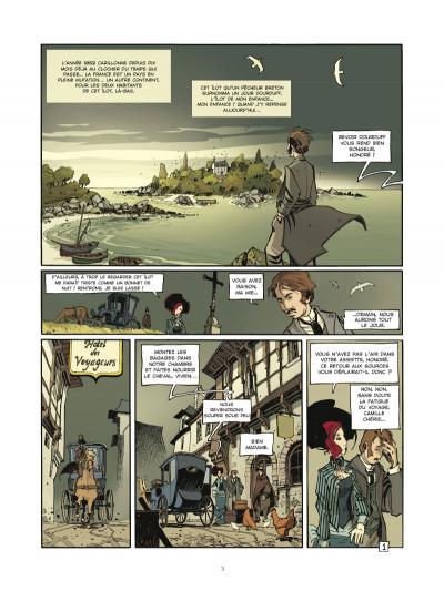 Page 1 l'école Capucine - coffret tome 1 et tome 2