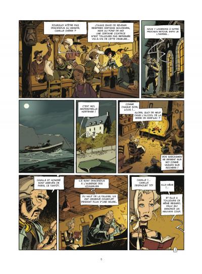 Page 3 l'école Capucine - coffret tome 1 et tome 2