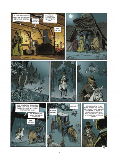 Page 4 l'école Capucine - coffret tome 1 et tome 2