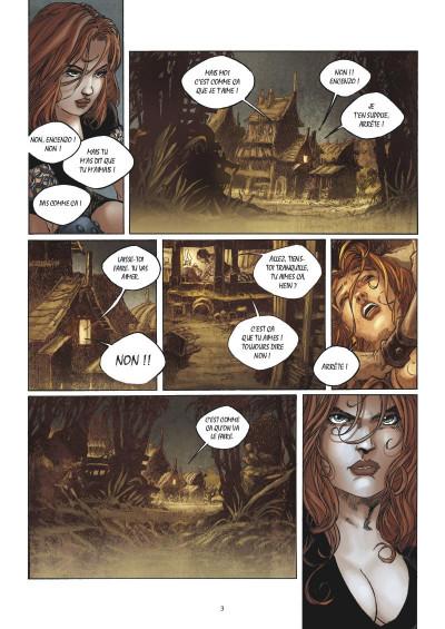 Page 1 Ganarah tome 3 - la voix du passé