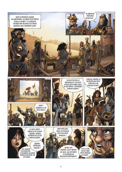 Page 4 Ganarah tome 3 - la voix du passé