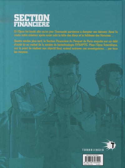 Dos section financière tome 2 - délit d'initié