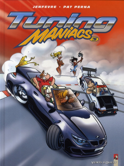 Couverture tuning maniacs tome 3